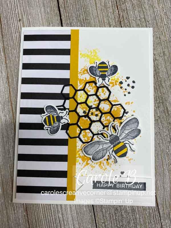 """Honey Bee: """"BEE""""utiful Birthday Card"""