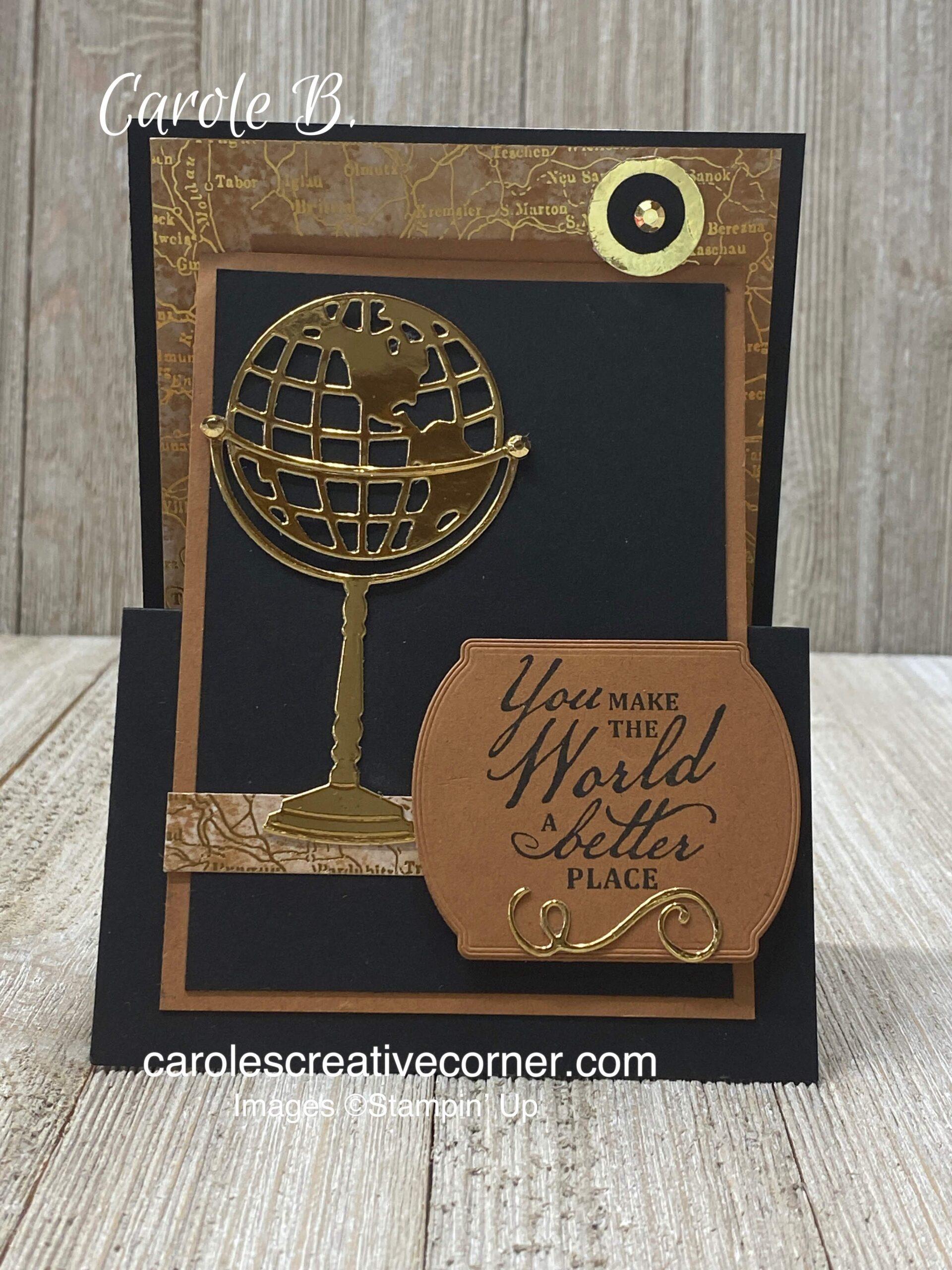 Stampin Up Card Ideas:  Beautiful World