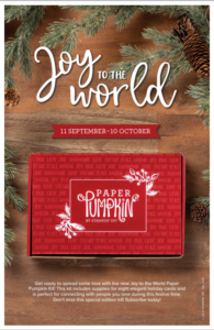 October 2020 Paper Pumpkin - Last day to Order
