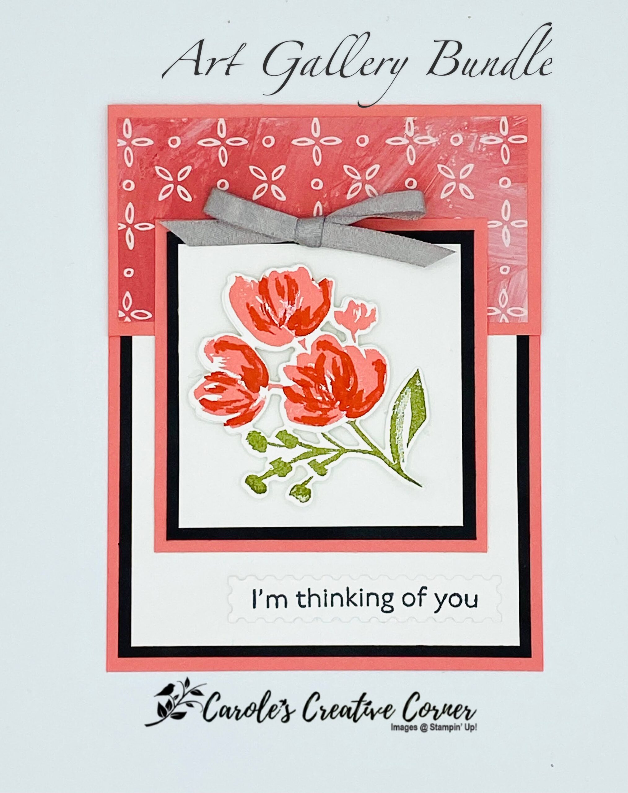 Art Gallery Bundle Thinking of You Card