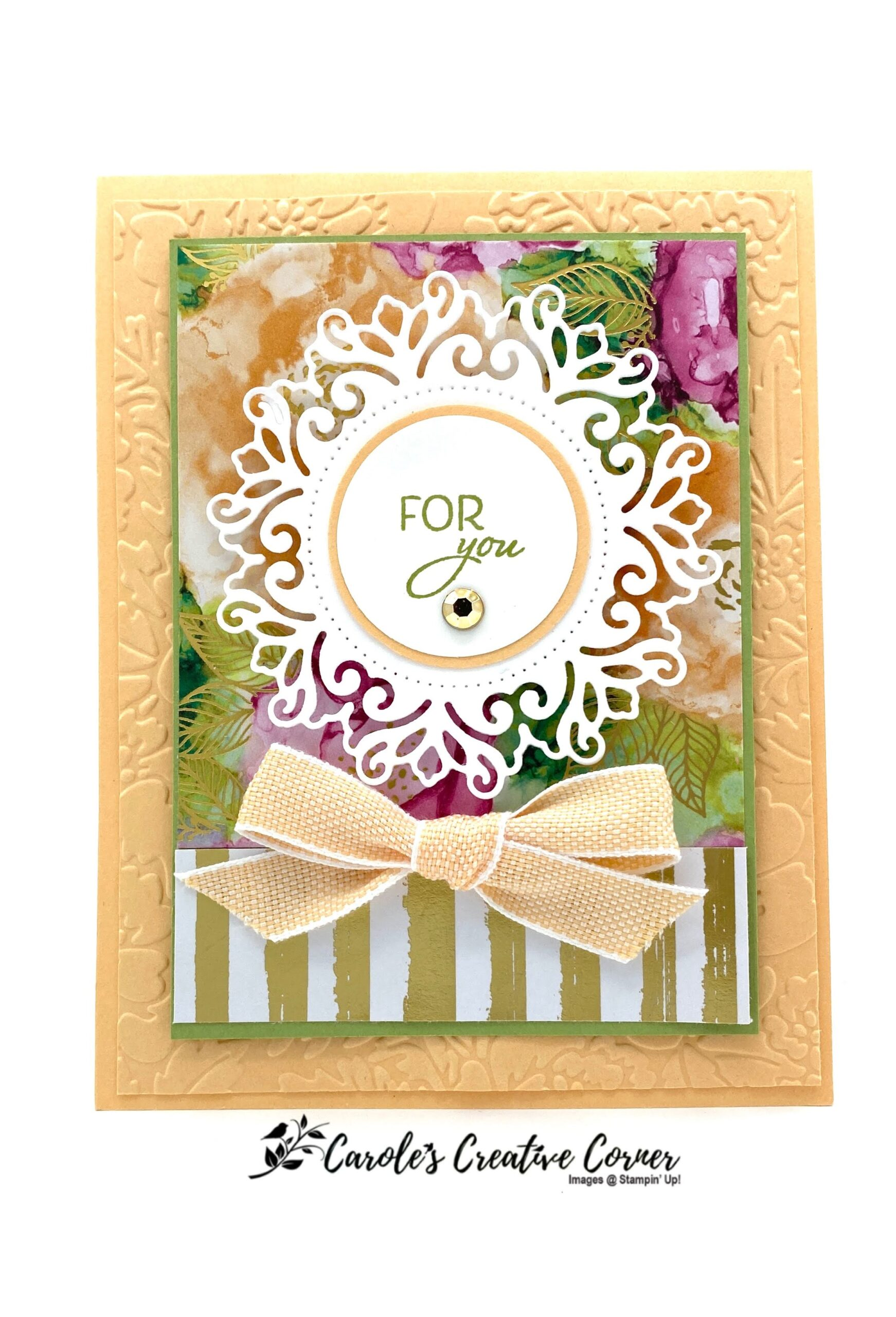 Encircled in Beauty Layered Card