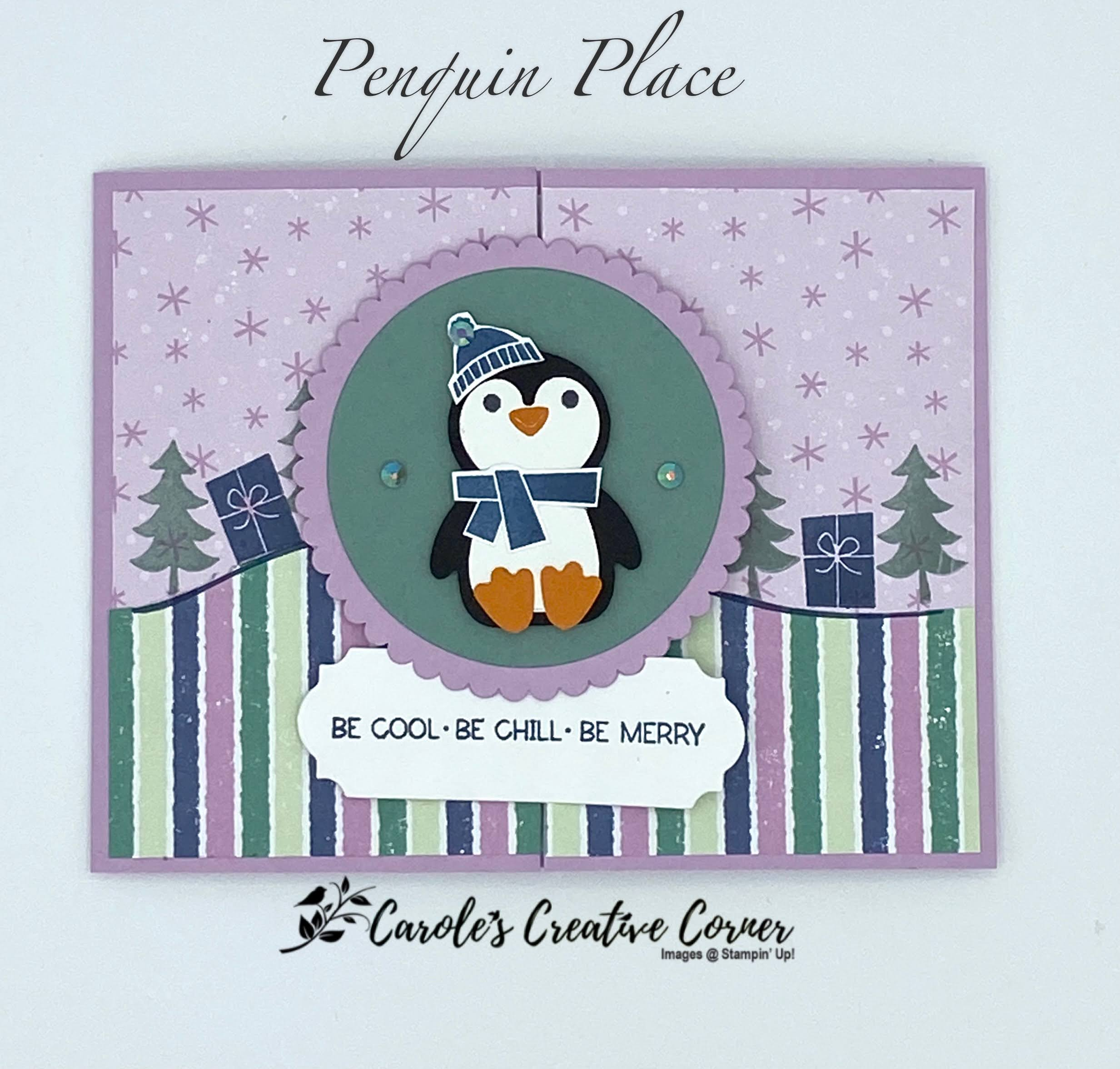 Creative Inking Blog Hop: Penguin Playmates SAB Paper